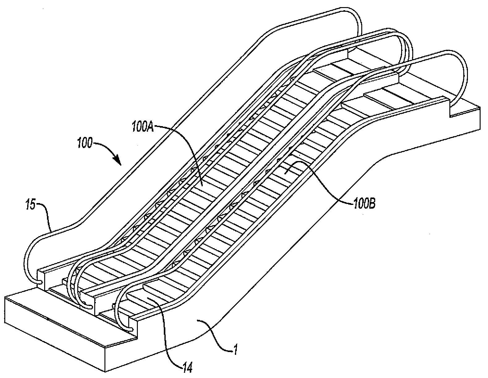 radiant industries  u0026gt  escalator cladding